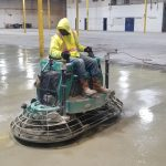 Concrete Cleaning and Dustproofing